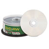 Verbatim® DVD+RW Discs, 4.7GB, 4x, Spindle, 30/Pack VER94834