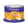 Verbatim DVD-R Storage Media, 50 Pack