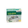 Verbatim® CD-RW Discs, 700MB/80min, 2X/4X, Slim Jewel Case, Matte Silver, 10/Pack VER95170