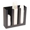 Vertiflex® Commercial Grade Cup Holder, 12 3/4w x 4 1/2d x 11 3/4d, Black VRTVFPC1000