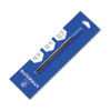 Refill for Waterman Roller Ball Pens, Fine, Blue Ink