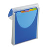 Big Mouth Vertical Filer Organizer, Jacket, 10 x 12, Poly, Dark Blue