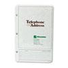 Wilson Jones® Looseleaf Phone/Address Book Refill, 5 1/2 x 8 1/2, 80 Sheets