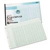 Wilson Jones® Accounting Pad, 13 Eight-Unit Columns, 11 x 16 3/8, 50-Sheet Pad