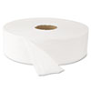 "Super Jumbo Roll Bath Tissue, 12"" dia, 2000ft, 6 Rolls/Carton"