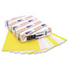 Xerox® Revolution Digital Carbonless Paper, 8 1/2 x11, Wh/Can/Pink/Gldrod, 5,000 Sheets XER3R12430