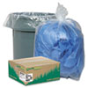 Earthsense® Commercial Clear Recycled Can Liners, 55-60gal, 1.5mil, Clear, 100/Carton WBIRNW5815C