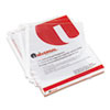 Universal® Top-Load Poly Sheet Protectors, Economy, Letter, 100/Box UNV21130