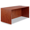 "<strong>Alera®</strong><br />Alera Valencia Series Straight Front Desk Shell, 65"" x 29.5"" x 29.63"", Medium Cherry"
