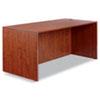 Alera Valencia Series Straight Front Desk Shell, 65w x 29.5d x 29.63h, Cherry