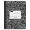 TOPS® Composition Book w/Hard Cover, Legal/Wide, 9 3/4 x 7 1/2, White, 100 Sheets TOP63795