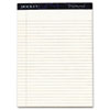"TOPS Docket Diamond Legal Rule Notepad - 50 Sheets - Watermark - 24 lb Basis Weight - 8.50"" x 11.75"" TOP63976"