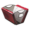 """<strong>Safco®</strong><br />Onyx Mesh Desktop Tub File, Letter Files, 12.5"""" x 13.75"""" x 9.5"""", Black"""