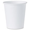 White Paper Water Cups, 3oz, 100/Bag, 50 Bags/Carton