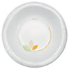 Dart® Bare Paper Eco-Forward Dinnerware, 12oz Bowl, Green/Tan, 500/Carton - OFHW12-J7234