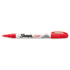 Permanent Paint Marker, Fine Bullet Tip, Red