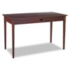 Apres Table Desk, 48w x 24d x 30h, Mahogany