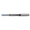 uni-ball® Vision Roller Ball Stick Waterproof Pen, Blue Ink, Micro, Dozen SAN60108
