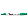 Permanent Paint Marker, Fine Bullet Tip, Green