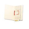 Smead® U-Clip File Folders, Straight Tab, Letter, Manila, 50/Box SMD34112