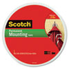 "Scotch® Foam Mounting Double-Sided Tape, 3/4"" Wide x 350"" Long - 110-LONG"