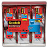 "Scotch® 3850 Heavy-Duty Packaging Tape in Sure Start Disp., 1.88"" x 800"", Clear, 6/Pack MMM1426"