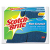 Scotch-Brite® Non-Scratch Multi-Purpose Scrub Sponge, 4 2/5 x 2 3/5, Blue, 6/Pack - 526-5