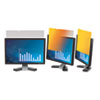 "3M Frameless Gold LCD Privacy Filter for 17"" Monitor MMMGPF170"