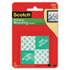 Precut Foam Mounting 1 Squares, Double-Sided, Permanent 16/Pack
