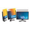 """3M Frameless Gold Notebook Privacy Filter for 17"""" Widescreen Monitor, 16:10 MMMGPF170W"""