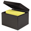 SteelMaster® Index Card File w/Follow Block, Holds 900 6 x 9 cards, 7 1/4 x 9 7/8 x 8 3/4 MMF263869BLA