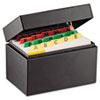 SteelMaster® Index Card File Holds 400 3 x 5 cards, 5 3/4 x 3 5/8 x 4 MMF263534BLA