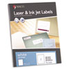 White Laser/Inkjet Full-Sheet Identification Labels, 8 1/2 x 11, White, 100/Box