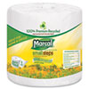 Marcal® Small Steps 100% Recycled 1-Ply Bath Tissue, 1000 Sheets/Roll, 40 Rolls/Carton MRC4415