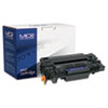 Compatible CE255X(M) (55XM) High-Yield MICR Toner, 12500 Page-Yield, Black