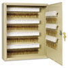 <strong>SteelMaster®</strong><br />Uni-Tag Key Cabinet, 200-Key, Steel, Sand, 16 1/2 x 4 7/8 x 20 1/8