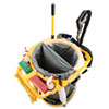 Rubbermaid® Commercial Deluxe Rim Caddy, 28 1/2 x 39 1/8, Yellow RCP9VDVRC4400