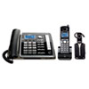 RCA® ViSYS 25270RE3 Two-Line Corded/Cordless Phone System with Cordless Headset RCA25270RE3