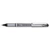 Pentel® EnerGel NV Liquid Gel Pen, .7mm, Gray Barrel, Black Ink PENBL27A