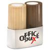 Office Snax® Condiment Set, 4oz Salt, 1.5oz Pepper, Two-Shaker Set OFX00057