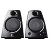 Logitech® Z130 Compact 2.0 Stereo Speakers, 3.5mm Jack, Black LOG980000417