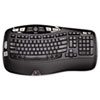 Logitech® K350 Wireless Keyboard, Black LOG920001996