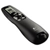 Logitech® Professional Wireless Presenter w/Green Laser Pointer, 100ft Projection, Black LOG910001350