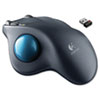 Logitech® M570 Wireless Trackball, Four Buttons, Scroll, Black/Blue LOG910001799
