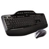 Logitech® MK710 Wireless Desktop Set, Keyboard/Mouse, USB, Black LOG920002416