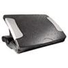 """Kantek Deluxe Adjustable Footrest, 18""""w x 13 1/2""""d x 4""""h to 7""""h, Black KTKFR600"""