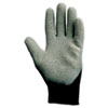 G40 Latex Coated Poly-Cotton Gloves, 250 Mm Length, Large/size 9, Gray, 12 Pairs