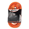Innovera® Indoor/Outdoor Extension Cord, 50ft, Orange IVR72250