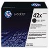 HP 42X, (Q5942X) High Yield Black Original LaserJet Toner Cartridge