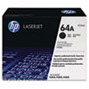 HP 64A, (CC364A-G) Black Original LaserJet Toner Cartridge for US Government